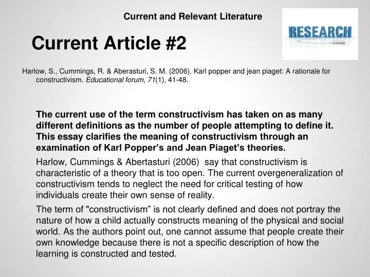 Memories Essay  Constructivist Child Development Theories Essay Learning Theories  Summaries On The Learningtheoriescom Website As An  Essay Of Water Pollution also The Second Coming Essay Constructivist Child Development Theories Essay College Paper  Computer Ethics Essay