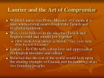 laurier and the art of compromise