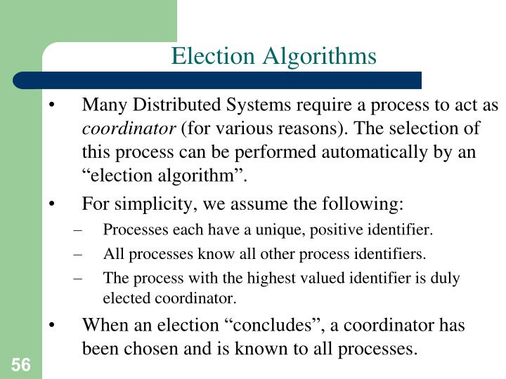 Election Algorithms