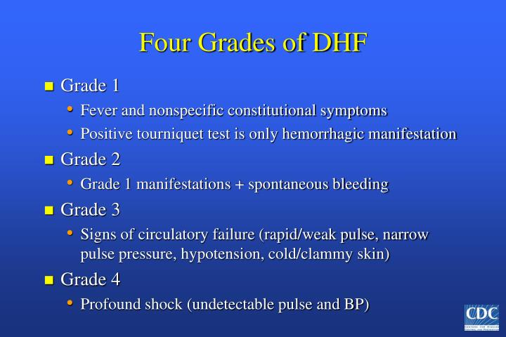Four Grades of DHF