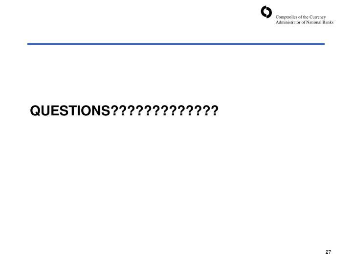 QUESTIONS?????????????