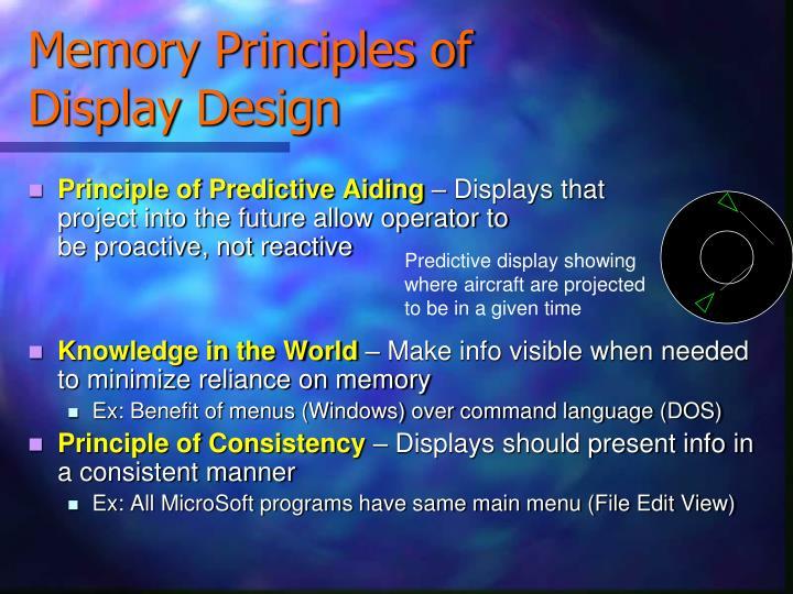 Memory Principles of