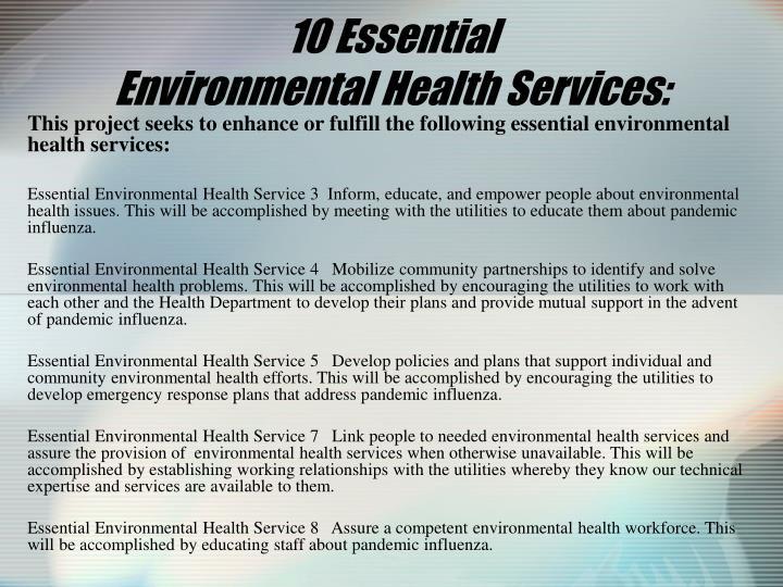 10 Essential