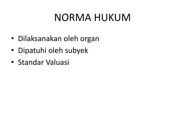 Norma hukum1