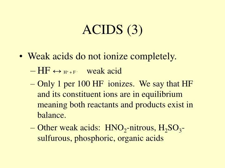 ACIDS (3)