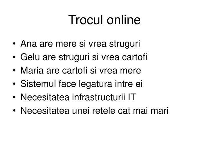 Trocul online