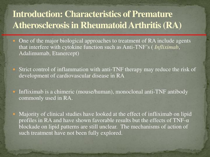 Introduction: Characteristics of Premature Atherosclerosis