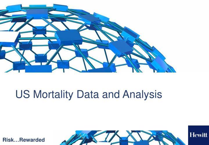 Us mortality data and analysis