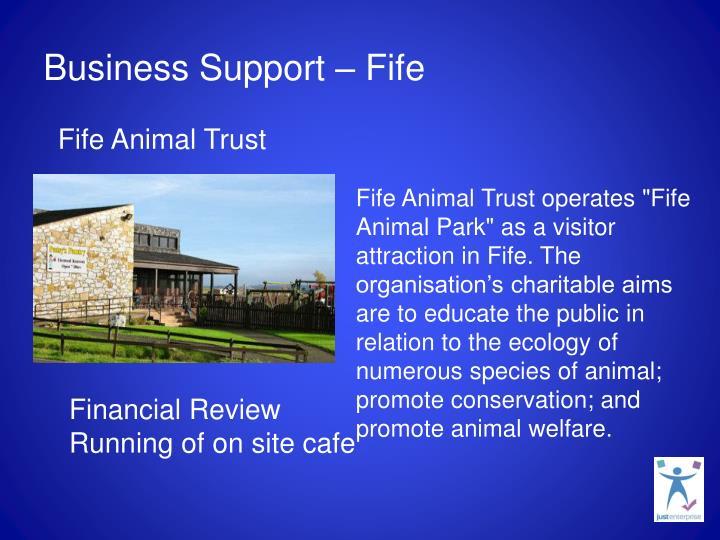 Business Support – Fife