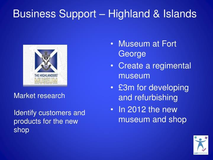Business Support – Highland & Islands