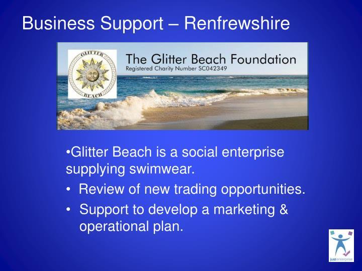 Business Support – Renfrewshire