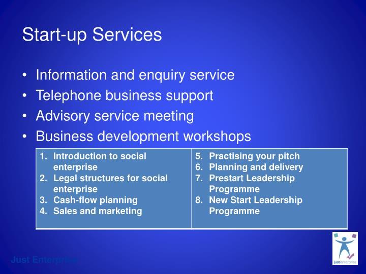 Start-up Services