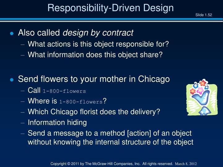 Responsibility-Driven Design