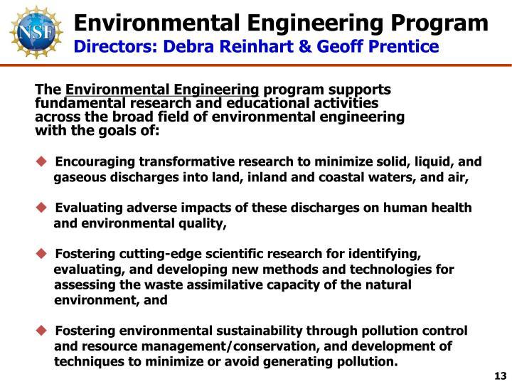 Environmental Engineering Program