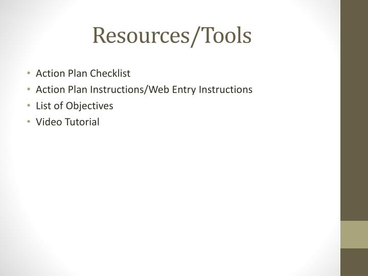 Resources/Tools