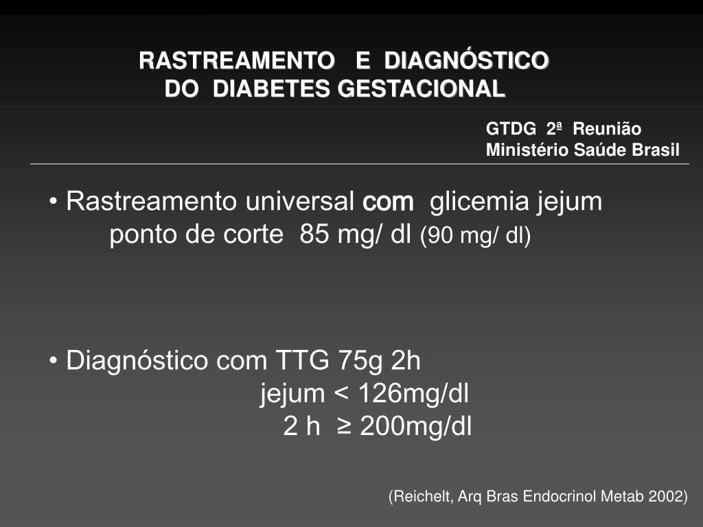 diabetes gestacional cemach