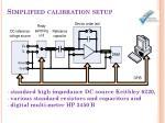 simplified calibration setup