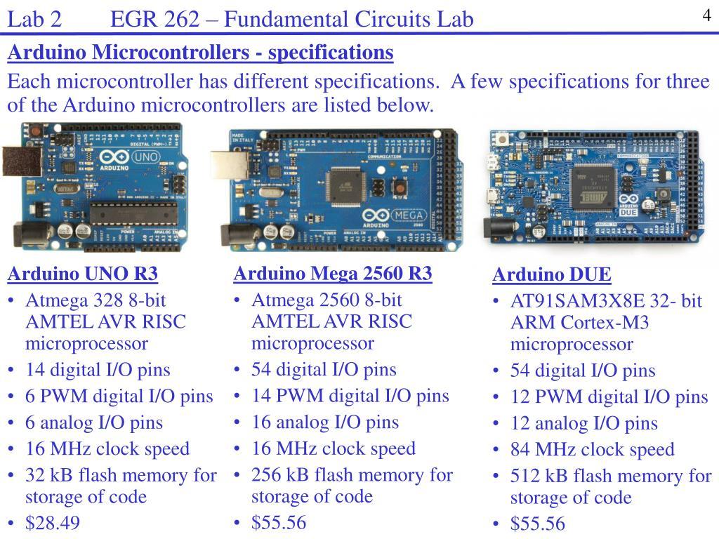 PPT - Lab 2 EGR 262 – Fundamental Circuits Lab PowerPoint