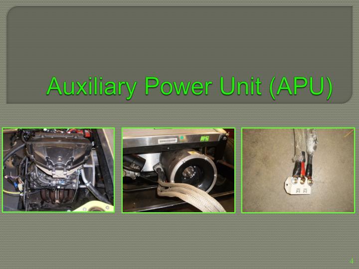 Auxiliary Power Unit (APU)