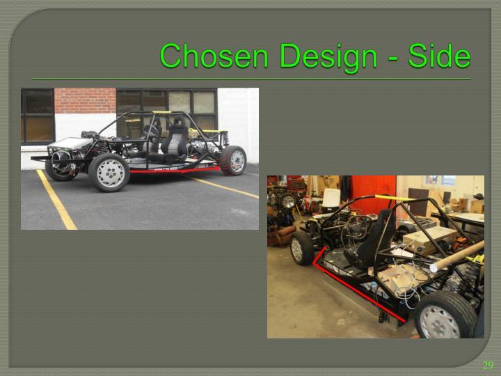 Chosen Design - Side