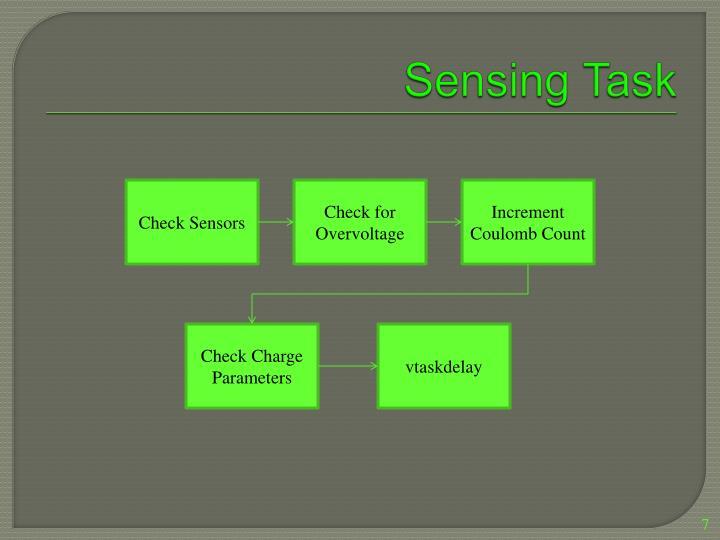 Sensing Task