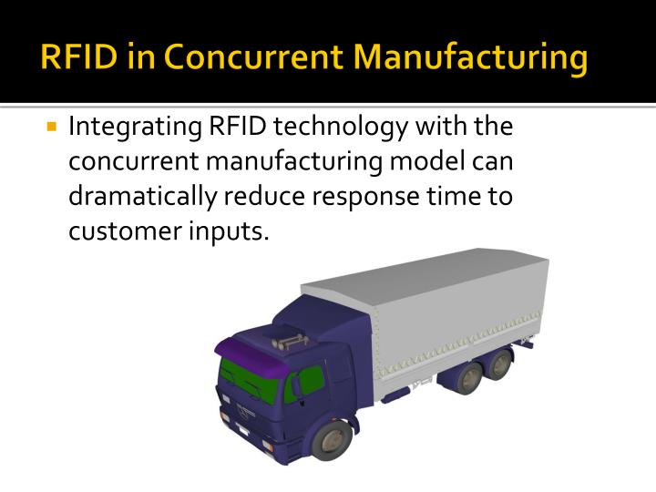 RFID in Concurrent Manufacturing