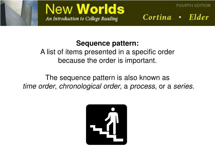 Sequence pattern: