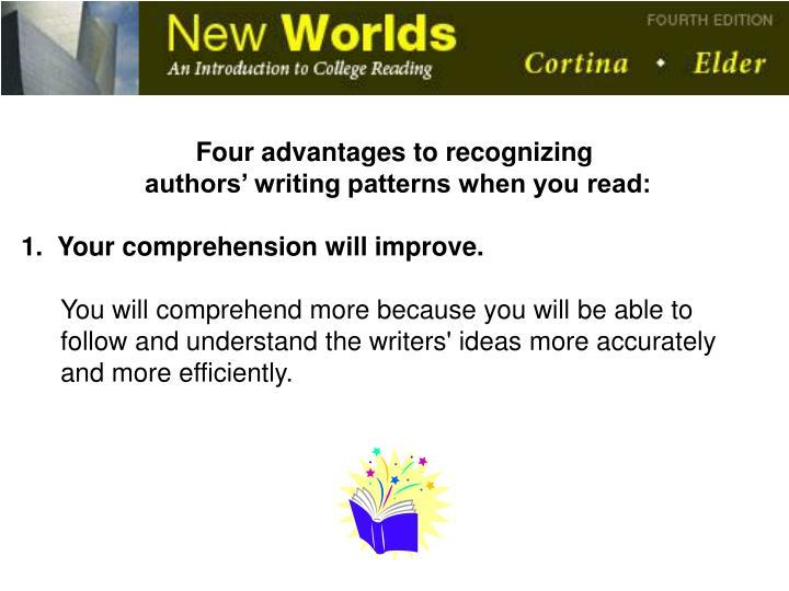Four advantages to recognizing