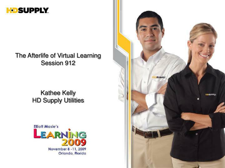 The Afterlife of Virtual Learning