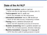 state of the art nlp