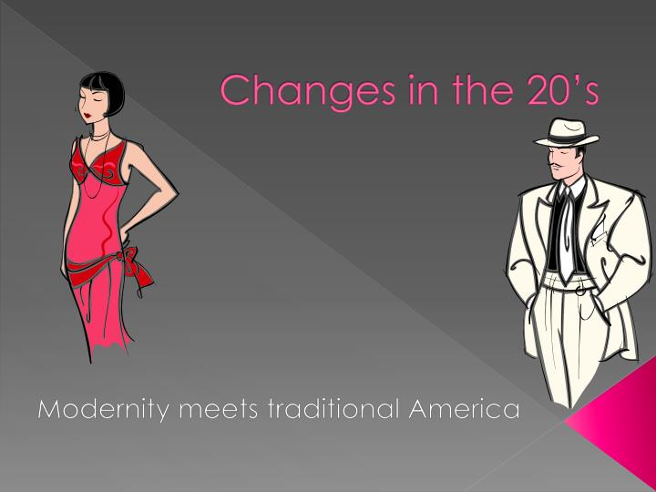 changes in the 20 s n.