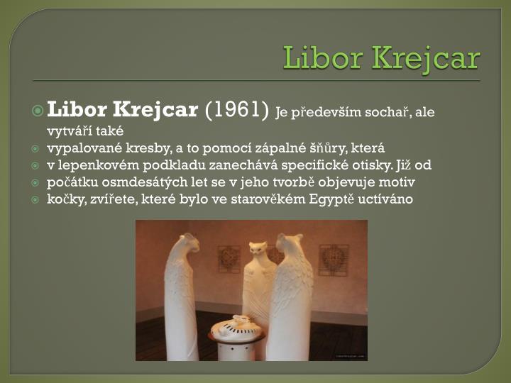 Libor Krejcar