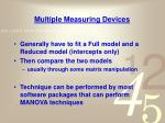 multiple measuring devices2