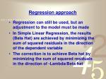 regression approach1