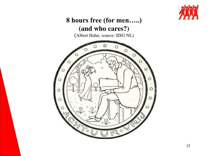 8 hours free (for men…..)