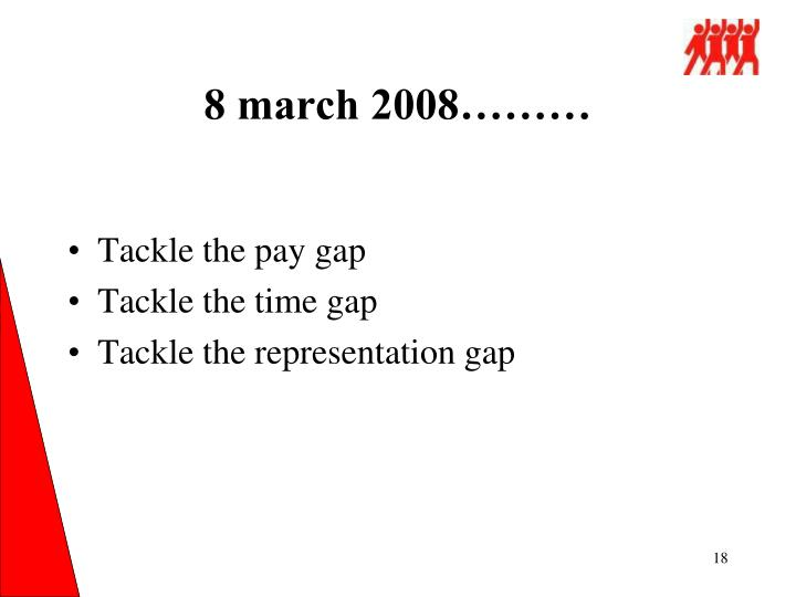 8 march 2008………