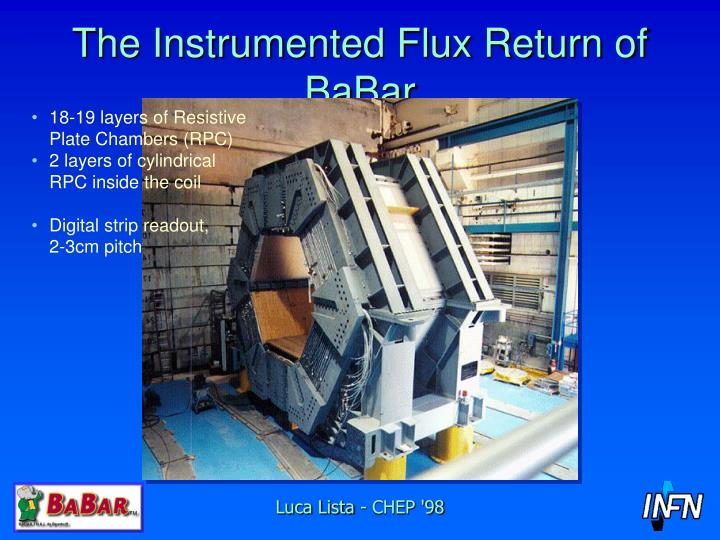 The instrumented flux return of babar