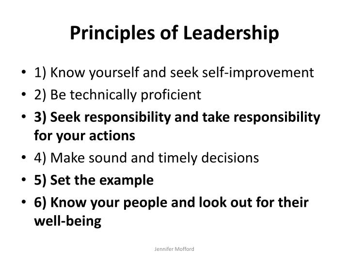 know yourself and seek self improvement essay 1 know yourself and seek self improvement 2 be technically and tactically proficient 3 seek responsibility and take responsibility for your actions.
