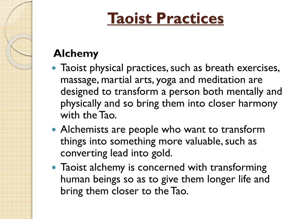 PPT - Taoism PowerPoint Presentation - ID:3140256
