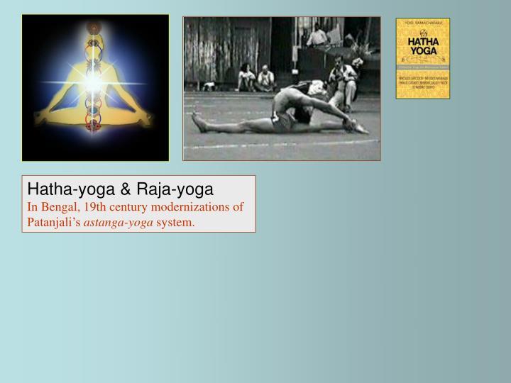 Hatha-yoga & Raja-yoga