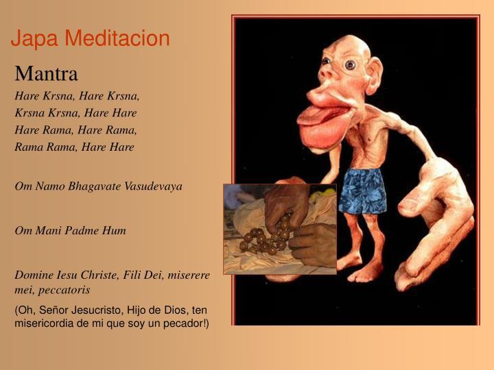 Japa Meditacion