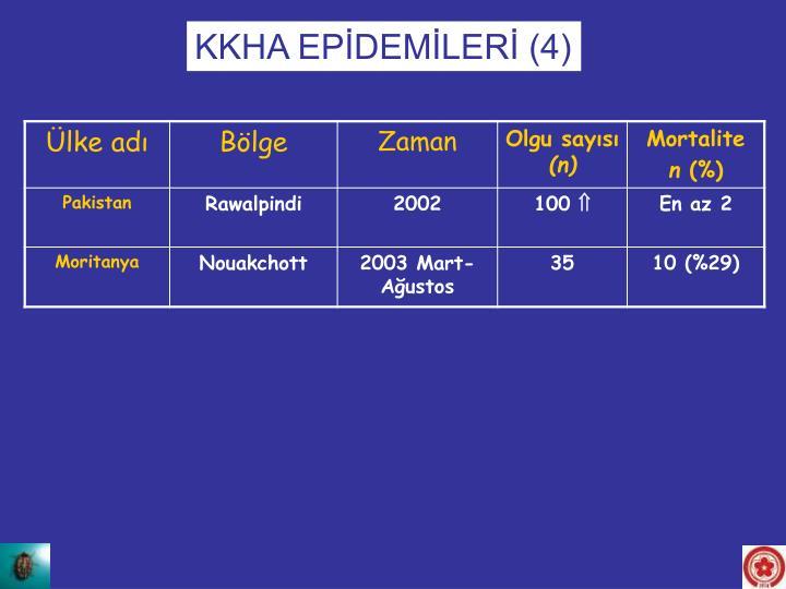KKHA EPİDEMİLERİ (4)