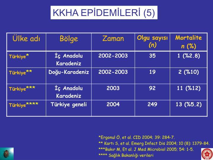 KKHA EPİDEMİLERİ (5)