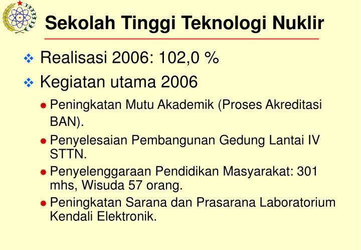 Sekolah Tinggi Teknologi Nuklir
