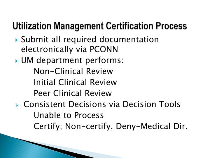 Outstanding Utilization Management Certification Photo - Anatomy And ...