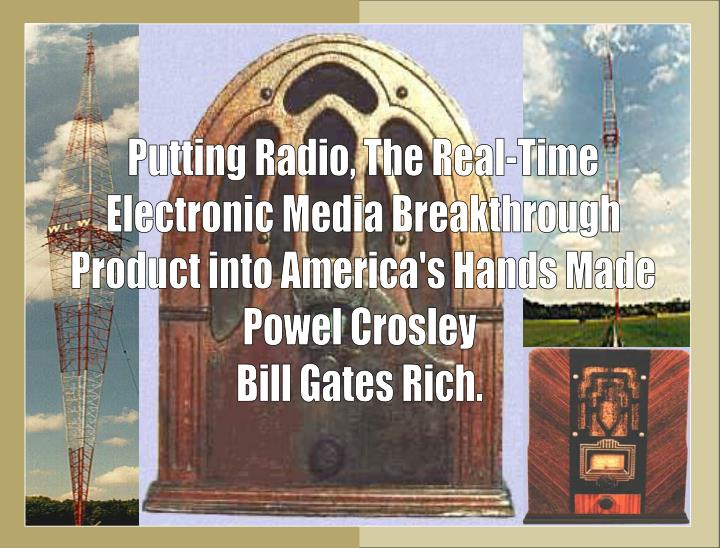 Putting Radio, The Real-Time