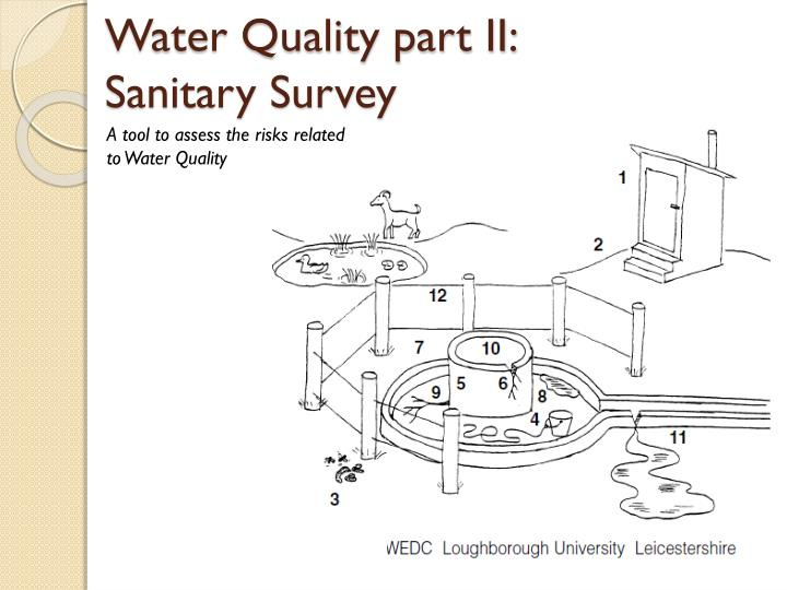 Water Quality part II: