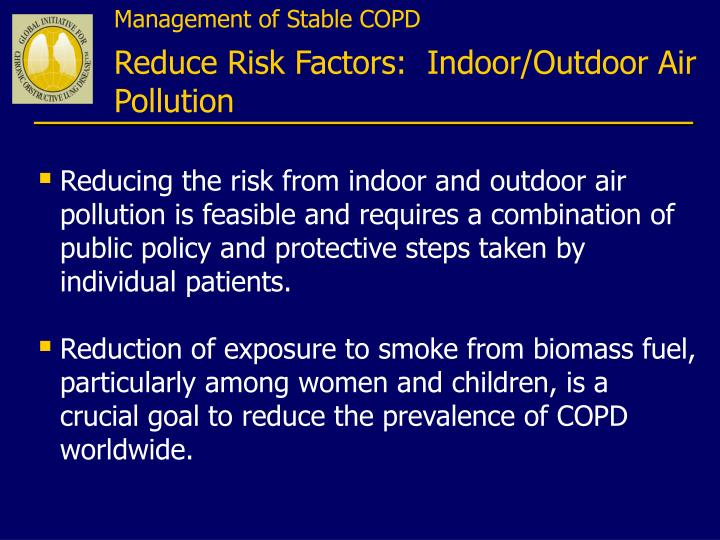 Management of Stable COPD