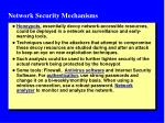 network security mechanisms1
