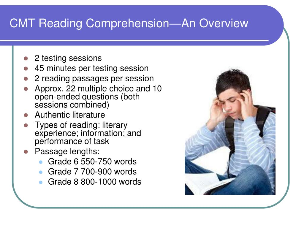 PPT - Connecticut Mastery Test English Language Arts PowerPoint